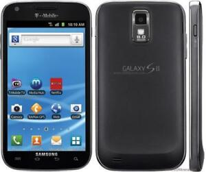 SAMSUNG GALAXY S2 SGH-T999D UNLOCKED TELUS FIDO ROGERS CHATR KOODO BELL DBLOQU WIFI 3G ANDROID CELL PHONE CELLULAIRE