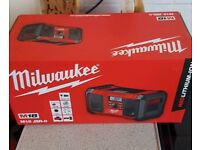 Milwaukee work radio