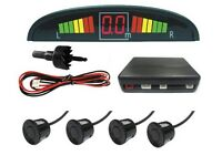 4 Parking Sensors LED Display Car Reverse Radar System Sound Alert !!!!