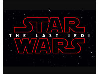 Tickets for opening day of 'The last jedi'