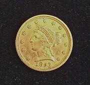 2 1/2 Gold Coin