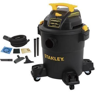 Stanley SL18116P Shop Vacuum 6 Gallon 4 HP Portable Wet/Dry Vac + Accessory Kit