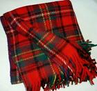 Red Plaid Blanket