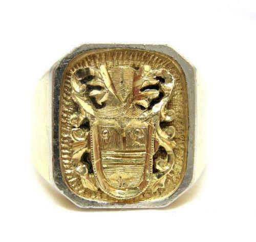 Gold Crest Ring Ebay