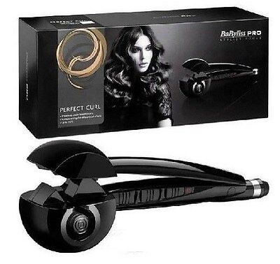 Купить New MiraCurl Babyliss Pro Nano Titanium Professional Curler Hair Machine BLACK с доставкой