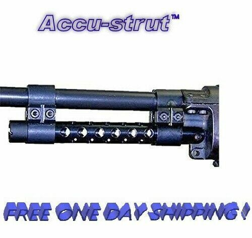 """Accu-Strut Blued Steel 14/30 Xdrill 6"""" with 2 Clamps Fits Ruger Mini # XDRILL-B"""