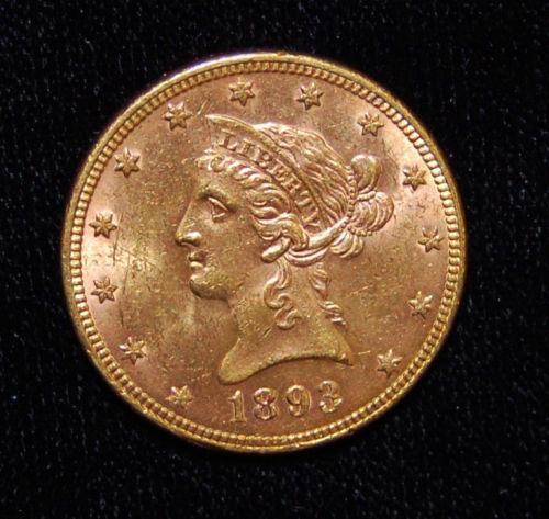 1893 Gold Coin Ebay
