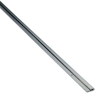 Stainless Steel Cap Strip For 116 Material - 8ft Long - Bright Finish