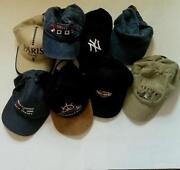 Baseball Cap Lot