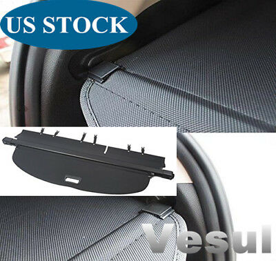 For Nissan Rogue 2014-2019 S SV SL Retractable Trunk Cargo Cover Security Shield