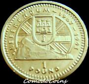 Gibraltar One Pound Coin