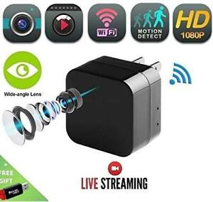 NEW 1080P USB Charger Camera WiFi - DENT Products HD Live Streaming Video Camcorder with Motion Detection, Pet Nanny ...