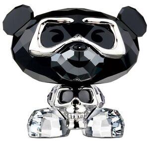 SWAROVSKI BO BEAR HEAVY METAL FIGURINE  2013 #1143383 Retail $160 VALENTINE'S