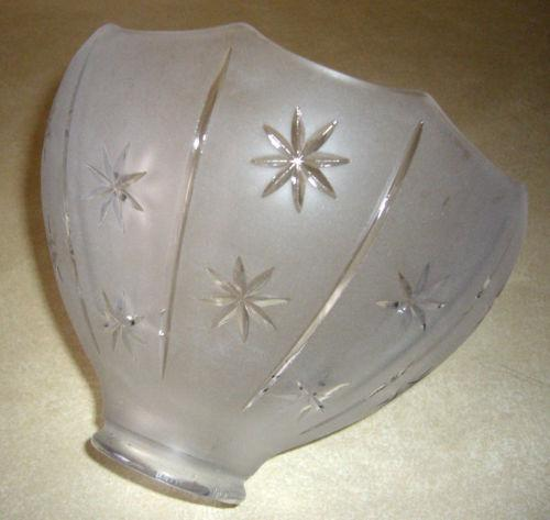 Antique Glass Light Shade Ebay
