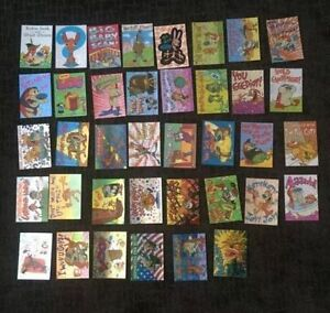NICKTOONS REN AND STIMPY SHOW (COLLECTOR CARD SETS) Windsor Region Ontario image 2