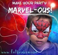 Party Entertainment! Face painters and Balloon Twisters!