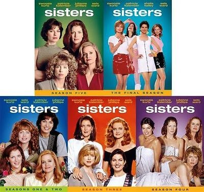 Sisters ALL Seasons 1-6 DVD Set Collection Series TV Show Episode Lot Bundle Box