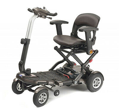 TGA Minimo Plus 4 Folding Portable Mobility Scooter EX DEMO MODEL FULLY SERVICED