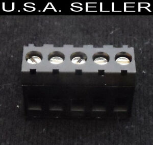 Terminal Block Riacon 31349105 Type 349 Pluggable 5mm 5-conductor 300 V 12-28AWG