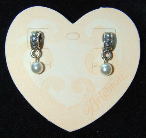 Brighton Pearl Earrings Ebay
