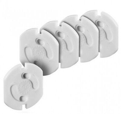 5 x goobay kindersicherung kinderschutz schutz für steckdose drehmechanik neu
