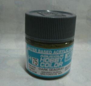 GUNZE SANGYO H75 Dark Seagray water based acrylic paint 10 ml - Italia - L'oggetto può essere restituito - Italia