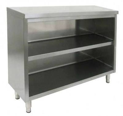 All Stainless Steel 16x36 Commercial Dish Cabinet Storage - Nsf Approved