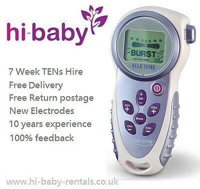 ELLE MATERNITY TENS MACHINE FOR LABOUR - 7 WEEK HIRE/RENT
