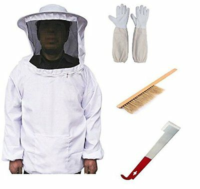New Professional Bee Keeping Suit Beekeeping Supply Suit-eco Keeper Round Hood