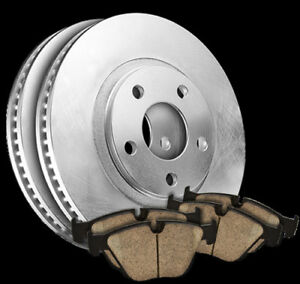 93-03 Corolla Prius Prizm FRONT Quality Brake Rotors Pads 31056