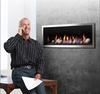 Direct Vent Gas Fire Place For Just $2,350 (Monthly Payment)