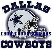 Cowboys Nail Decals