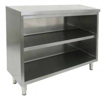 Commercial Stainless Steel 24x72 Storage Dish Cabinet Nsf Approved