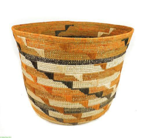 African Baskets: Large African Basket