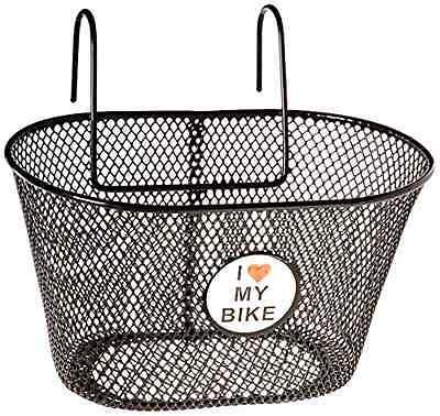 Front Wire Mesh Bottom Basket Bicycle Lift Off Steel Net Bracket Bike Handlebar