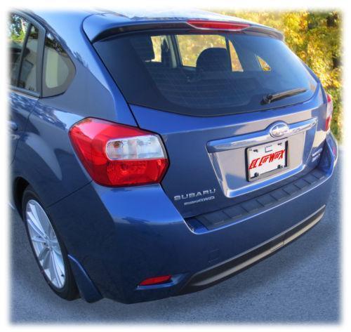 Subaru Impreza Rear Bumper Ebay