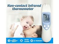 Forehead Thermometer, Non-Contact Infrared Digital LCD