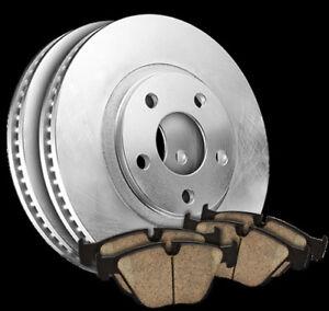 07-14 Lancer Outlander REAR Quality Brake Rotors Pads 980594