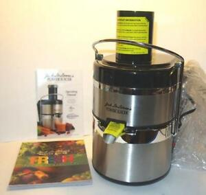 Heaven Fresh Slow Juicer Review : Jack Lalanne Power Juicer Black