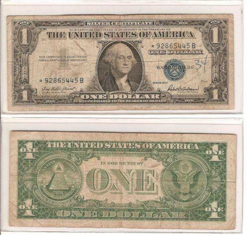 1 Dollar Bill: Paper Money US | eBay