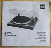 Dual CS 5000