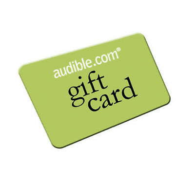 2 Audible Com Or Uk Books Of Your Choice   2 Credits