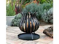 Bulb Fire Basket Fire Pit Garden Patio Heater Brand New