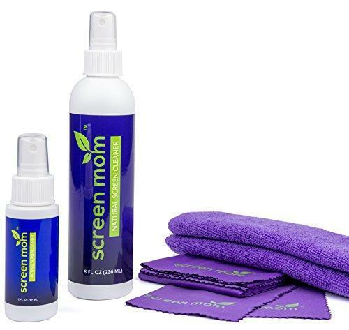Screen Mom Screen Cleaner Home & Away Bundle – Designed for LED, LCD, Plasma,