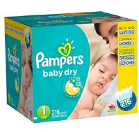 140 Size 1 pampers
