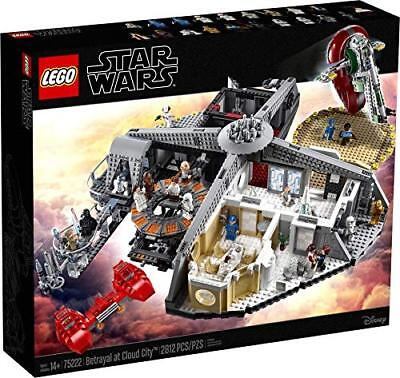LEGO Star Wars: Betrayal at Cloud City [Building Kit Toys 75222 2812 Pieces] NEW