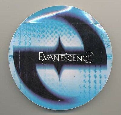 Evanescence Fallen RARE promo sticker '03