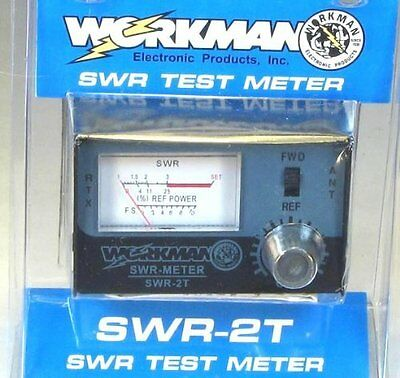 Workman SWR-2T CB Radio Test Meter SWR2T NEW