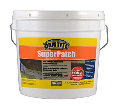 Damtite 04072 Concrete Super Patch Repair 7 Lb. Pail