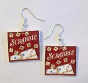 Scrabble Tile Earrings